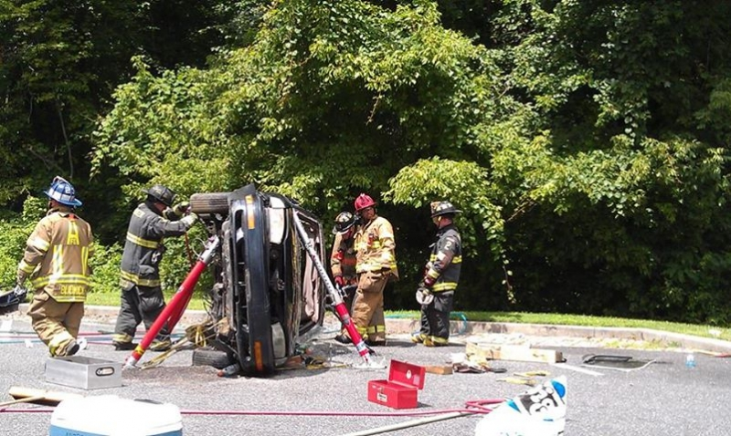 Vehicle Extrication Training at the Main Station